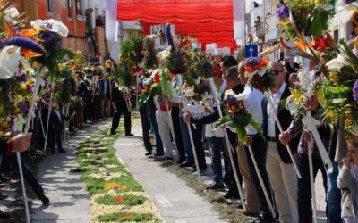 Procissão da festa das tochas floridas nomeada para as '7 maravilhas da cultura popular'