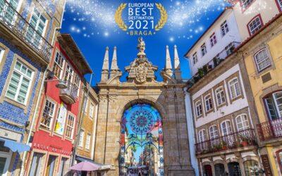 Braga eleita Melhor Destino Europeu em 2021